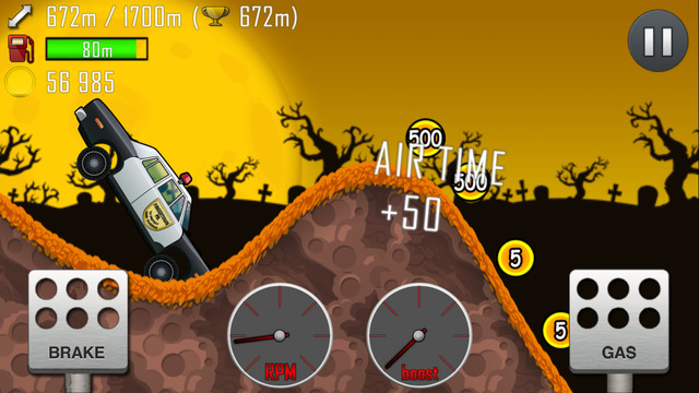 İos Hill Climb Racing Oyunu 2