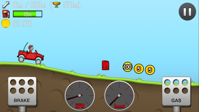 İos Hill Climb Racing Oyunu 3