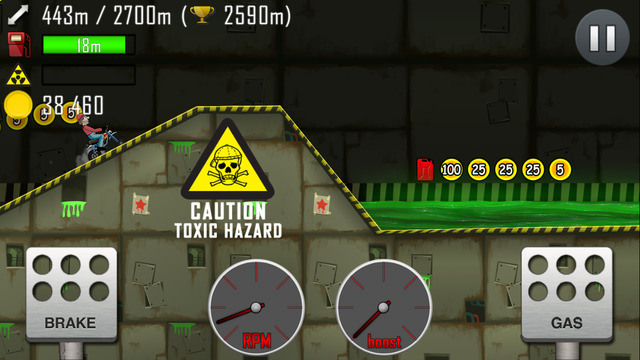 İos Hill Climb Racing Oyunu