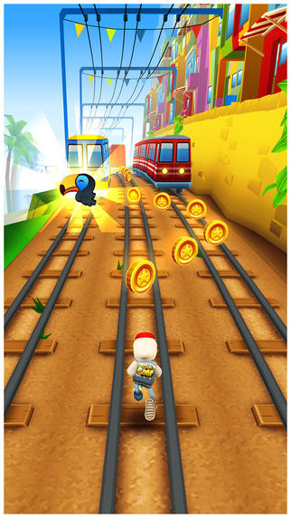İos Subway Surfers Oyunu1